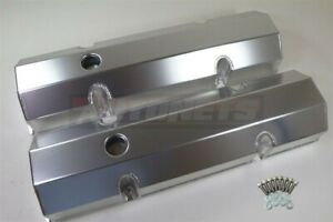 Fabricated Aluminum Valve Cover Sbc Chevy 283 305 327 350 400 Anodized Tall