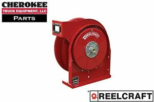 Reelcraft A5805 Omp 35 Premium Duty Spring Retract Oil Hose Reel For 1 2 Hose