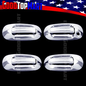 For Lincoln Navigator 2003 2008 2009 2010 2011 2012 Chrome 4 Door Handle Covers