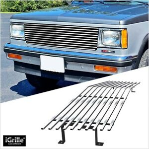 Fits 82 90 Chevy S 10 Pickup Blazer S 15 Jimmy Stainless T304 Billet Grille