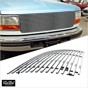 Stainless Steel Igrille Billet Grill For 92 96 Ford Bronco f 150 f 250 f 350