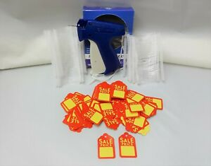 Clothing Price Tagging Gun 1000 Pins Fasteners 500 Sales Price Tag Labels