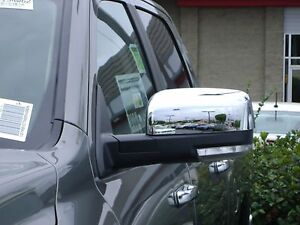 Dodge Ram 1500 2009 2018 Tfp Abs Chrome Top Half Mirror Cover Set