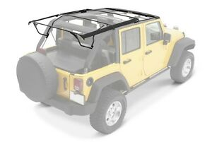 2010 2017 Jeep Wrangler Unlimited Soft Top Hardware Kit With Surrounds