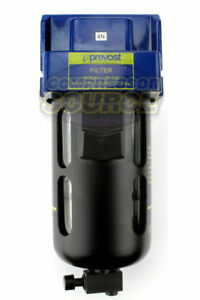 Prevost Compressed Air Inline Moisture Trap Water Separator Filter 1 2 Fnpt New