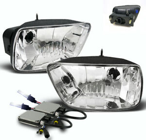 2002 2009 Chevrolet Trailblazer Bumper Driving Fog Lights 10k Xenon Hid New Pair