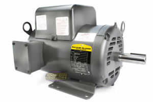 Baldor 7 5 Hp Electric Motor 3450 Rpm 184 T Frame 1 Ph Single Phase 208 230 Volt