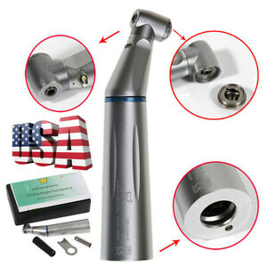 Sale Dental E generator Led Low Speed Handpiece Contra Angle Inner Water Spray