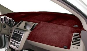 Fits Toyota Pickup Truck 1987 1988 Velour Dash Board Cover Mat Red
