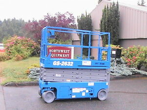 Genie Gs 2632 Electric Scissor Lift Refurbished 3148
