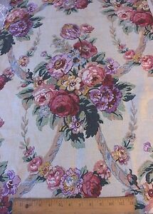 Antique French Art Deco Vintage Old C1928 Home Floral Linen Fabric Pillows Bags