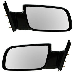 Chevy Blazer C k Pickup Truck Manual Rear View Mirror Left Right Side Set Pair