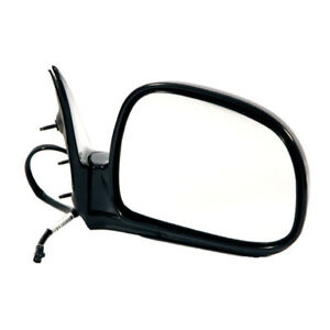 94 97 Chevy S10 Pickup Truck Power Black Rear View Mirror Right Passenger Side R