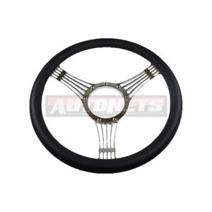 Banjo Aluminum Billet Steering Wheel Chrome Chevy Gm