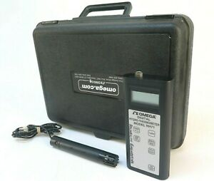 Omega Rh71 Digital Hygro thermometer With Case