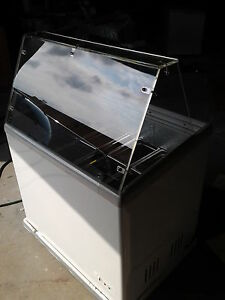 Gelato Case 12 Pan Ice Cream Dipping Cabinet Freezer