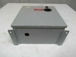 Daykin Elec Gpfs 01 Ls Enclosed Transformer Disconnect 2000va 480v Pri 120v Sec