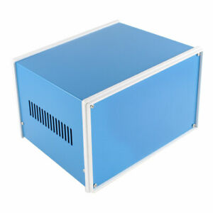 Metal Blue Electronic Project Junction Box Enclosure Case Diy 200 X 180 X 135mm