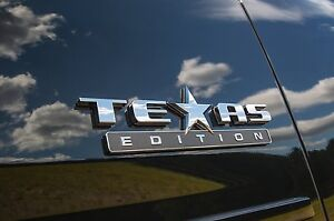 one Texas Edition 3d Emblem Decal Chevy Silverado Gmc Sierra Truck Universal