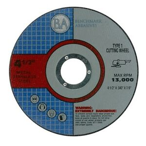 200 Pack 4 5 x 040 Pro Metal Steel Cutting Disc Cutoff Wheel