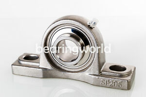 1 1 2 High Quality Sucsp208 24 Stainless Steel Pillow Block Bearing Mucp208 24