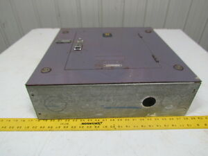 Square D Load Center 20 x20 Surface Mount Space For 14 Breakers