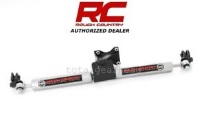 2007 18 Jeep Jk Wrangler 4wd Rough Country Dual N3 Steering Stabilizer 8734930