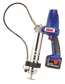 Lincoln Industrial 1444 Professional 14 4v Powerluber Cordless Grease Gun 2 Bat