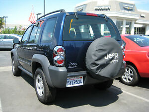 2002 2007 Jeep Liberty Chrome Taillight Cover