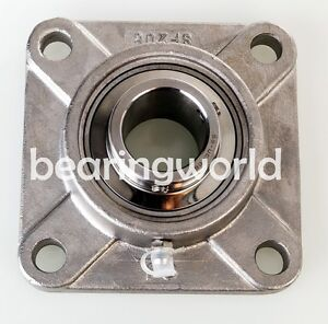 45mm Stainless Steel 4 bolt Flange Bearing Sucsf209 45mm Ucf209