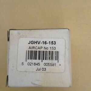 Devilbiss Jghv 16 153 No 153 Air Cap For Jga Itw Sprayguns Gti