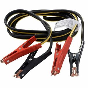 12ft 6 Gague Booster Cable Jumping Cables Power Jumper Start Cars Heavy Duty New