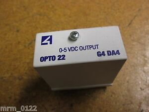 Opto 22 Gd da4 0 5vdc Solid State Relay Output Module 11 Pin New