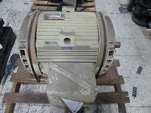 Ge Energy Saver Ac Motor 5ks404as215c 100hp 1790rpm 230 460v 226 113a 3ph Used