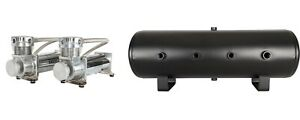 Dual Viair 480 Pewter Compressors With 8 Gallon Tank