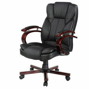 Ergonomic Desk Task Office Chair High Back Executive Computer New Style Brown