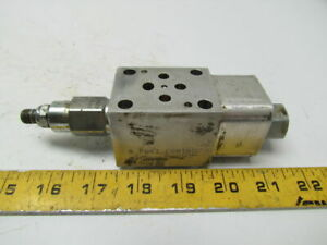 Sun Hydraulics Rdda len Direct Acting Pressure Relief Valve In Fb4 Manifold