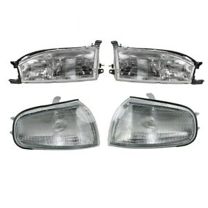 1992 1994 Toyota Camry Head Light Lamp And Corner Park Light Lamp Right