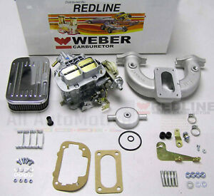 Mgb 1962 1980 Hi Performance Weber Conversion Kit W Genuine European 38 Dges