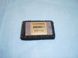 Burr Brown Model Adc71jg Adc71 Jg A d Converter