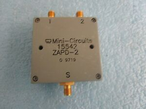 Mini circuits 15542 Directional Coupler Model Zapd 2