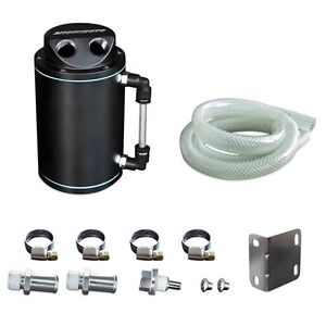 Mishimoto Universal Black Oil Catch Can Free Shipping Mmocc Rb