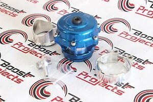 Tial Authentic Q Blow Off Valve Bov 50mm 11 Psi Spring Blue Color W Al Flange
