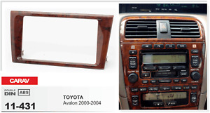 Carav11 431 Aftermarket Double Din Radio Install Dash Kit Fits For Toyota Avalon