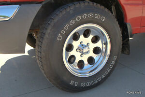 Ford Ranger 16x8 Jeep Wrangler Wheels Polishe Alum Ion 171 New 5 On 4 5 Bp