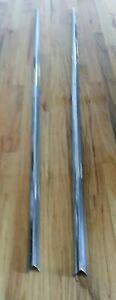 1958 Cadillac 62 Series Convertible Side Fender Stainless R L Pass Drver Sides