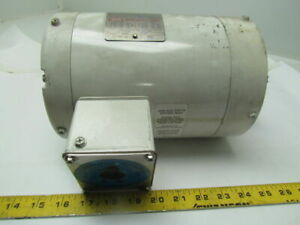 Leeson C6t34vc2h Washdown Electric Motor Reverse Actation 1hp 3ph 3450rpm