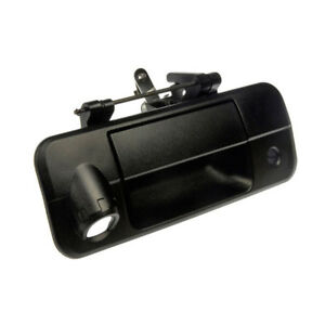 Tundra Pickup Truck Black Tailgate Liftgate Door Handle W rearview Camera Hole