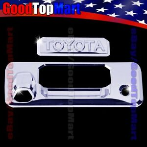 For Toyota Tundra 2014 2015 2016 2017 2018 Chrome Tailgate Cover W Text Stick On