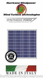 Peimar Os50p 50w 12 Volt Poly crystalline Solar Panel For Off Grid Rv Marine